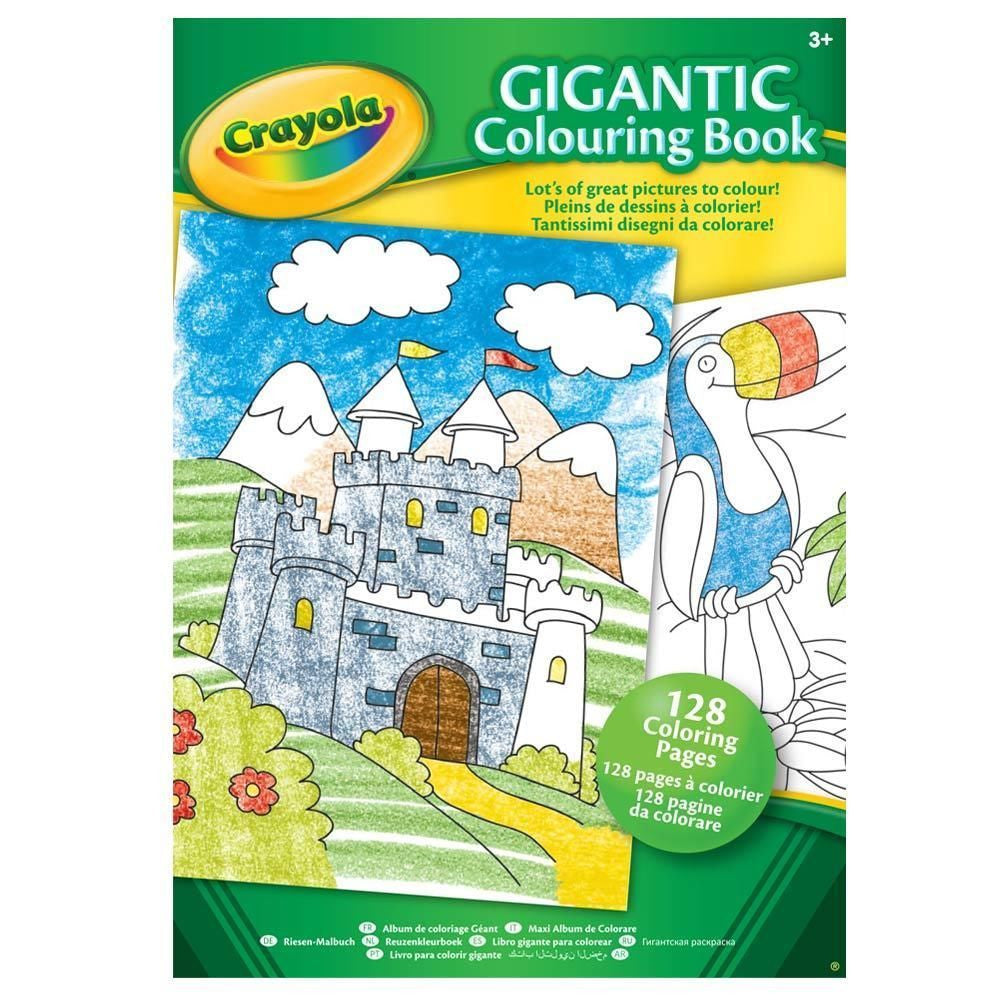 Crayola-Gigantic-Colouring-Activity-Book-128-Coloouring Activity Book -128 Colou