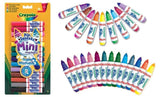 NEW-Crayola-Pip-Squeaks-Colored-Washable-Mini-Markers - 14Pack