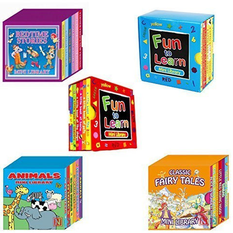 Mini Library Board Books - Board Books - Special Bumper Gift Pack - Mini Library