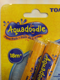 2 x Tomy Aquadoodle Magic Water Pens - Aqua Draw Twin Thick Nib Pack Pens