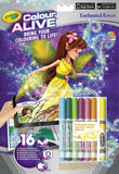 Crayola-Colour Alive Enchanted Forest
