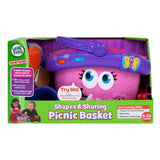 LEAPFROG SHAPES AND SHARING PICNIC BASKET - KID'S MUSIC SOUND LEARNING TOYS