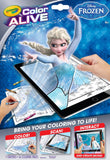 CRAYOLA DISNEY FROZEN COLOUR ALIVE - COLOUR! SCAN! INTERACT! - 16 COLORING PAGES