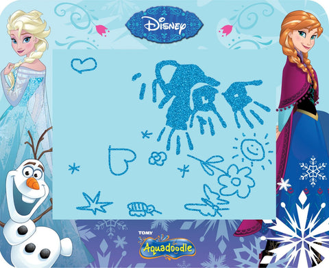 TOMY Disney Frozen Aquadoodle Drawing Mat - Aqua Draw Glitter Large Mat