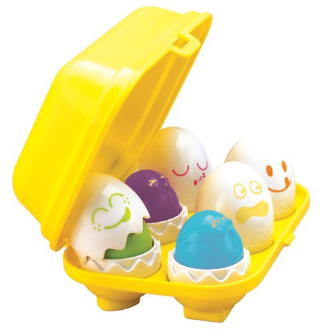 TOMY Hide N Squeak Eggs Play to Learn Baby Toddler Toy - From 6Months +