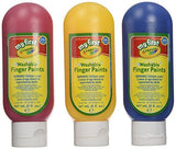 My First Crayola Mini Kids 3 Washable Finger Paints - From 2+ Years