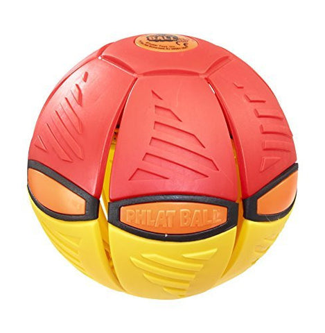 Phlat Ball Disc Ball V3 Fusion, Throw A Disc Catch A Ball - Multi Color-5+ Years