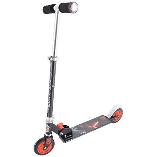 Star Wars The Force Awakens Kids Folding In Line Push Scooter - 5+ Years