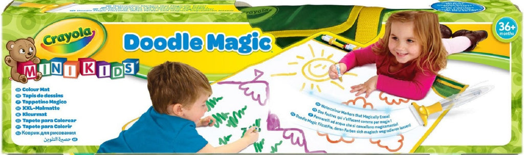 My First Crayola Doodle Magic Colour Mess Free Drawing Mat - 3+ Years