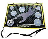 Kickmaster Indoor Target Shooting Game, Velcro Soccer, Includes Ball- 5+ Years