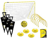Kickmaster Ultimate Football Challenge Set - Yellow/Black - 5+ Years