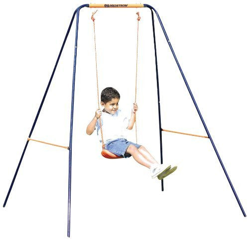 Hedstrom Deluxe 2 in 1 Swing, 5 Point Harness, Converts Toddler to Junior Swing