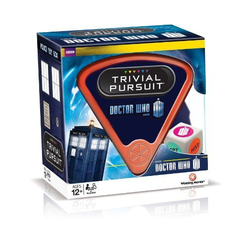 Winning Moves Trivial Pursuit Doctor Who 50 Years Celebration Family Card Game