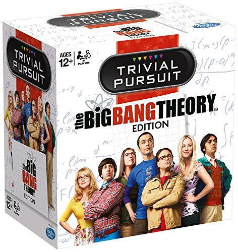 Trivial Pursuit The Big Bang Theory Family Fun Card Game - 12 Years