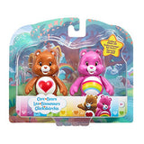 Care Bears Twin Pack of Articulated Figures Tenderheart & Cheer Bear - 3+ Years