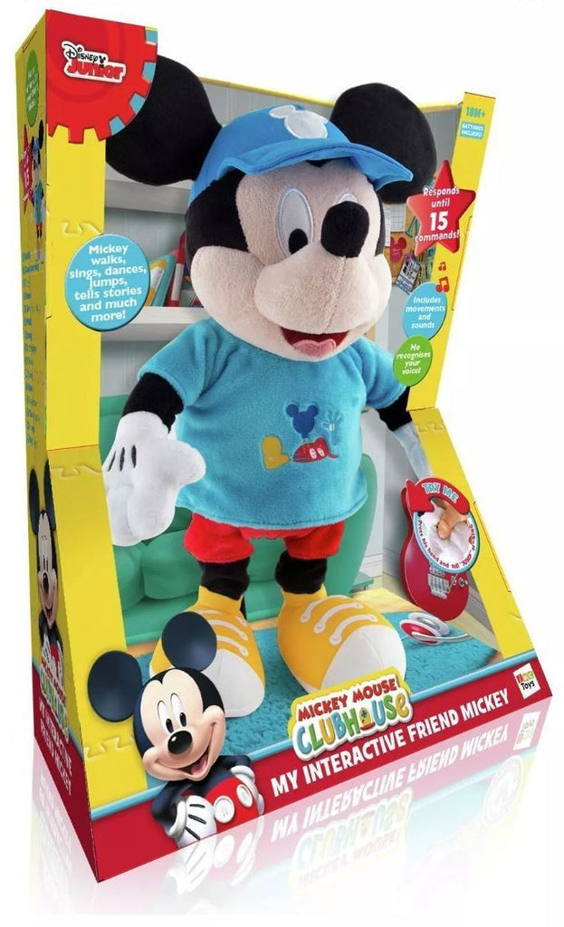 Mickey Mouse Disney Junior My Interactive Friend Mickey Talking Doll