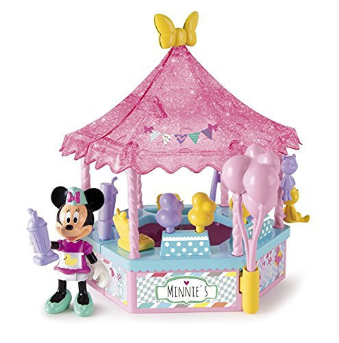 Disney Junior Minnie Mouse Minnie Sweets And Fun Fair Stall Toy