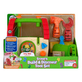 LeapFrog Scout's Build And Discover Tool Box Desires to Build New House