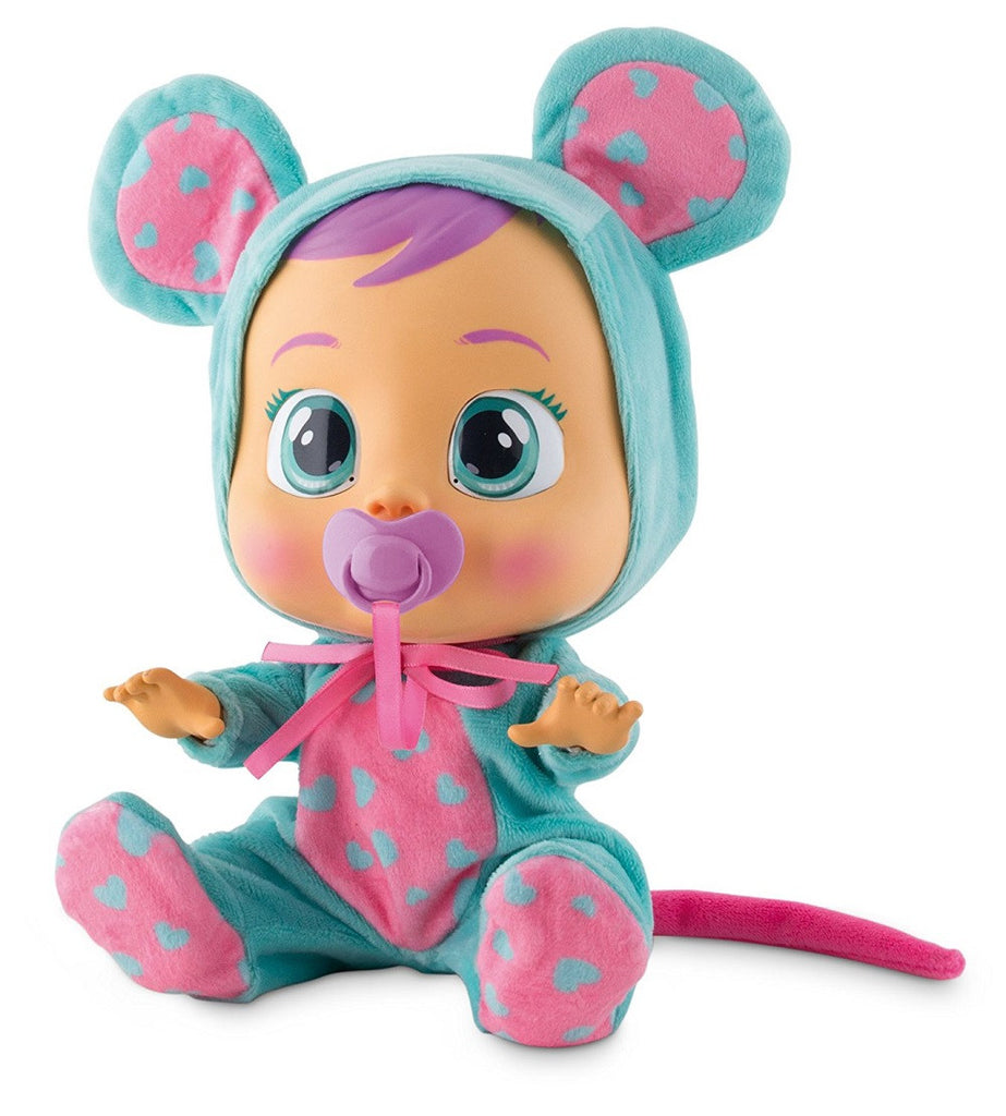Baby Wow Cry Babies La La Doll Toy With Accessories -Sound just like a real baby