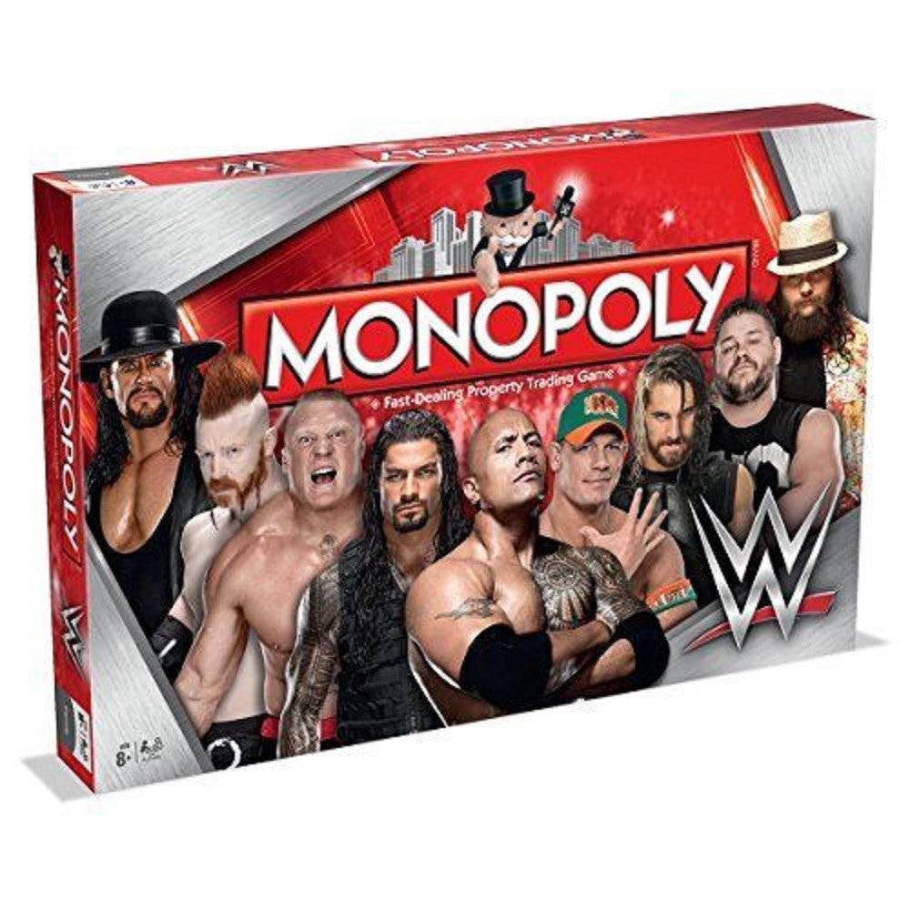 wwe winning moves edition monopoly strategy board game best gift