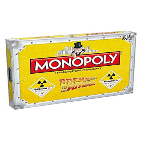 monopoly back to the future board game strategy board game best