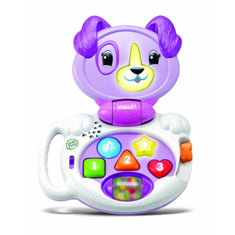 LeapFrog My Talking LapPup Animating Interactive Puppy Pal Toy Violet - 6-24 Mts