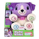 Leapfrog My Pal Violet Interactive Talking Puppy Soft Toy, 40+ Songs, 15+ Activi