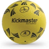 Kickmaster Multi-Surface Ball, Training Football for All Surfaces Size4 -5+ Yrs