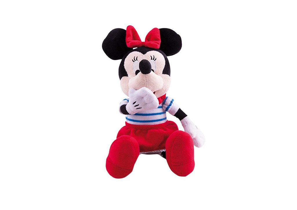Disney Minnie Kiss Kiss Minnie Mouse Soft Toy With Funny Sounds -18+ Months