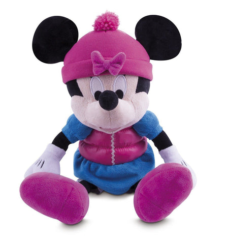 Disney Minnie Freezing Minnie Mouse Soft Toy Freezes -18+ Months