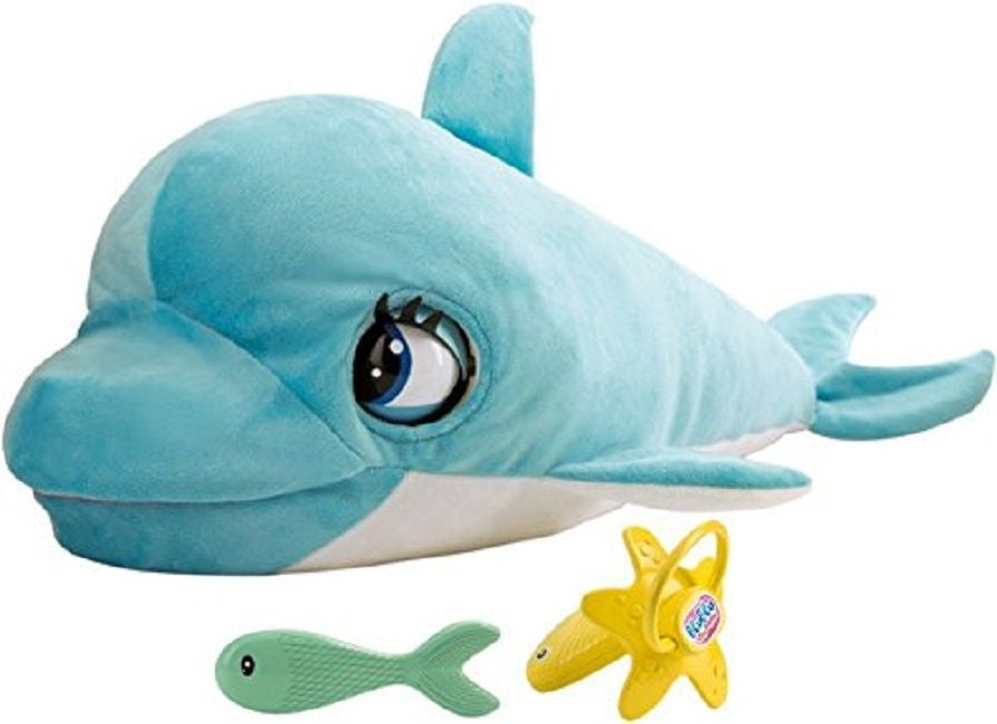 BluBlu The Baby Dolphin Interactive Plush Toy With Sounds And Movement -18+ Mont