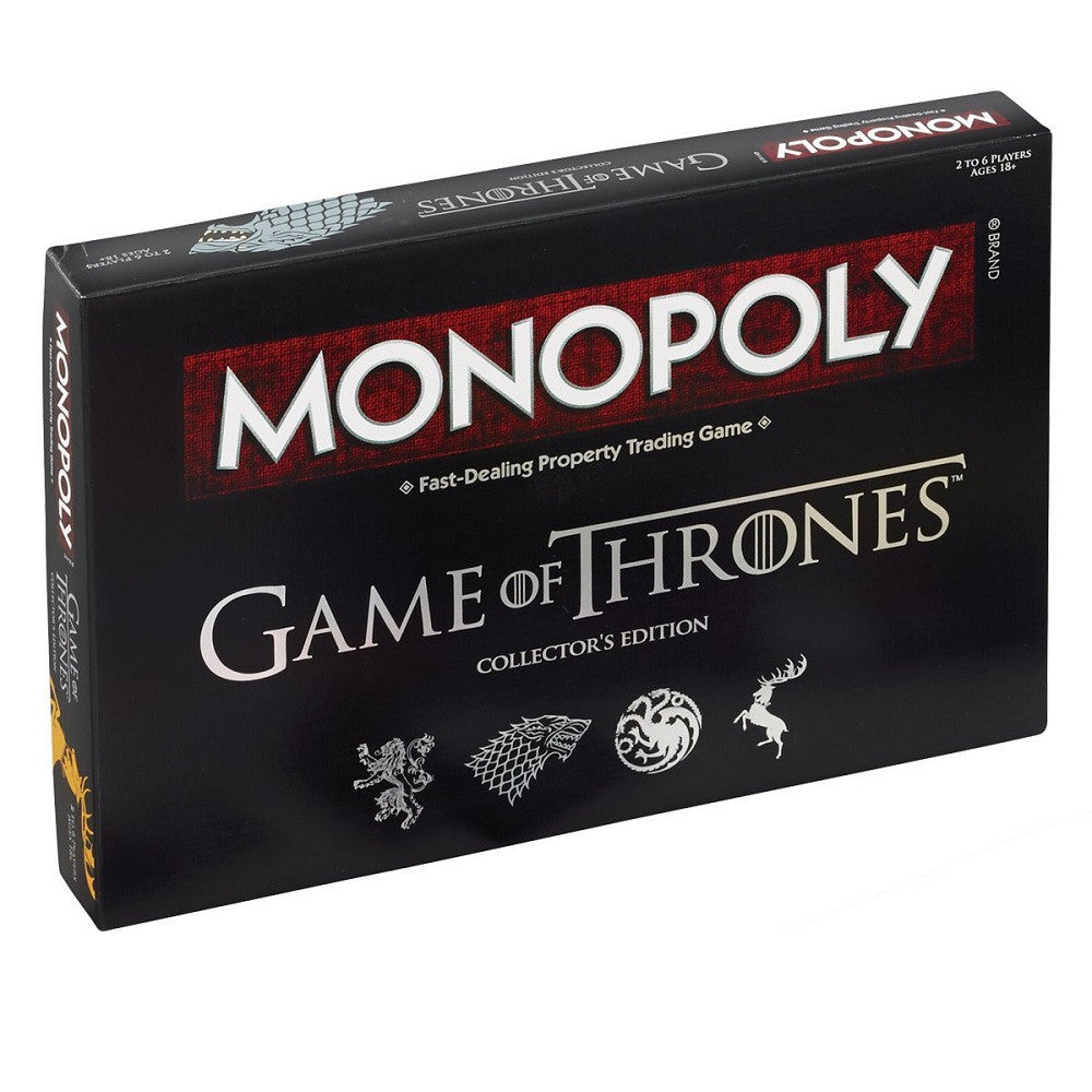 Game of Thrones Monopoly Board Game : Strategy Board Game Christmas Gift