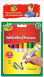 8 Crayola My First Washable Markers Brand New Specially Made For Little Hands