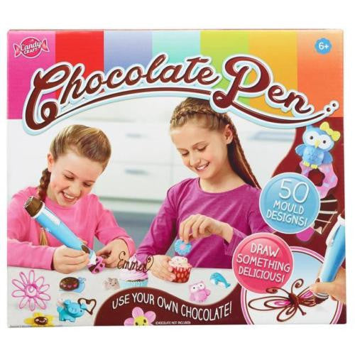 Candy Craft Chocolate Pen - Decorate your own Design - 50 Mould Designs!