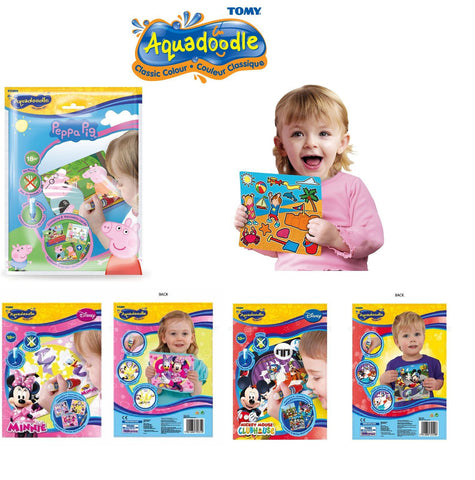 Aquadoodle Mini Drawing Mats - Peppa Pig / Minnie/Mickey Mouse / Playtime Mats