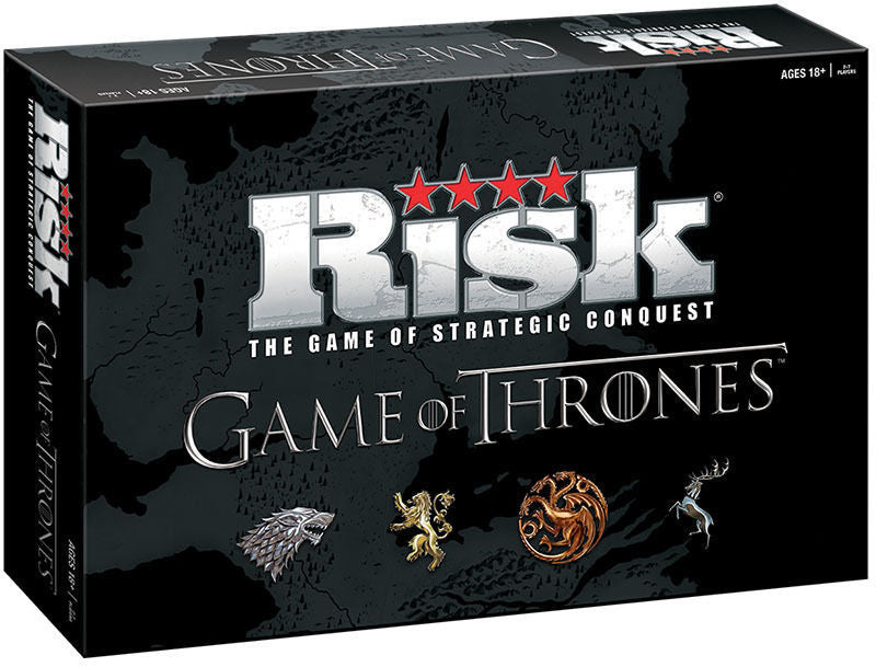 Risk Game of Thrones board game - Deluxe Edition - Over 650 game Pieces