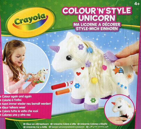 "Crayola ""Colour n Style"" Unicorn Craft Kit"