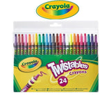 Crayola Twistable Crayons With an added 24 Twistable Vibrant Colours