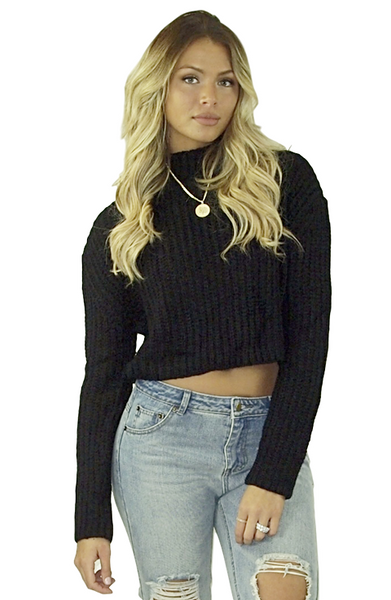 Bianca Crop Sweater