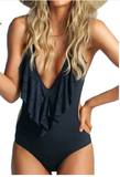 MERINA FRINGE SWIMSUIT - Bathing Suit