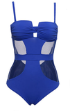 KATARINA MESH SWIMSUIT - Bathing Suit