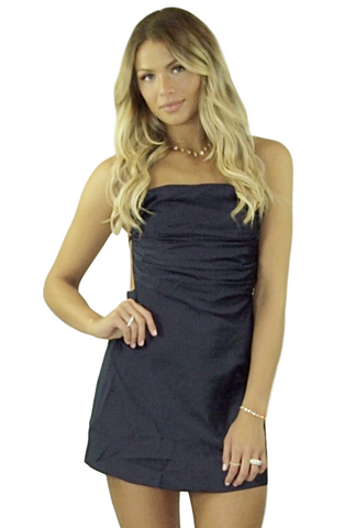 Sila Silk Dress - Bathing Suit