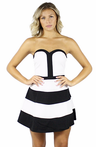 Raechel A-Line Dress - Bathing Suit