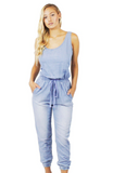 Amelia Jump Suit - Bathing Suit
