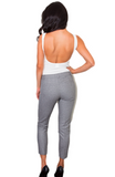 Naheed Fitted Trousers - Bathing Suit