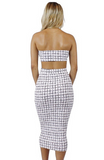 Tamara Checkered Set - Bathing Suit