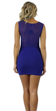 Mercedes Mesh Dress - Bathing Suit