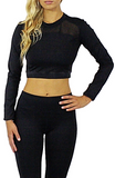 Brittney Athletic Crop Top - Bathing Suit