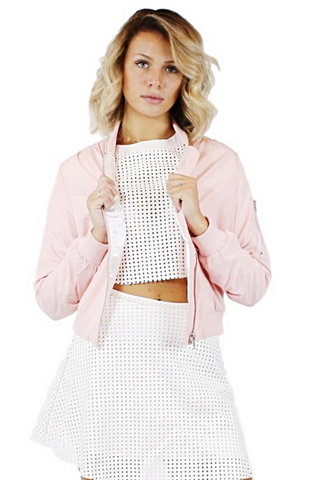 The Bomber Jacket - Bathing Suit
