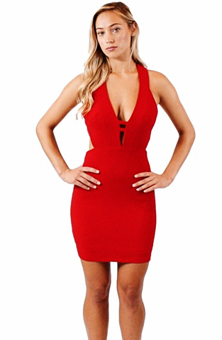 Madeline Cut-Out Dress - Bathing Suit